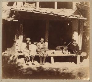 Прокудин-Горский: чайхана в Самарканде
