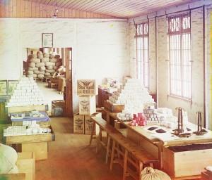 Чаква. Чайная фабрика. Развесочное отделение.